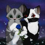 Commission: Lillyleaf and Blackblood by aThousandPaws