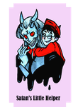 Satan and Douglas by That-Love-Voodoo