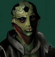 Thane Krios by kateriga
