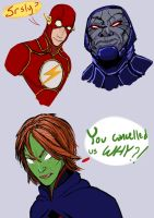 DC Doodlings by ConstantM0tion