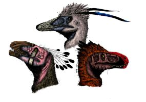 Collaboration: Raptors by Smnt2000