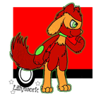 Red Riolu [Commission] by Lillywork