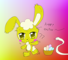 happy easter by LOVEHTF421