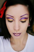 Purple and Gold by HelianthusMay