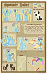 [COM] Crescent Honey Reference Sheet by Kazziepones