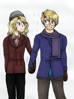 30 Day OTP Challenge - Day 1 Holding Hands by JelloJiji