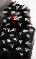 God Rest Ye Merry Birdman by MichellePrebich