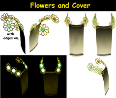 MMD/PMD Part: Flowers and Cover by torcenanaria