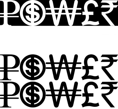 Money=Power Logo by dzn-ninja