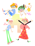 Trickster Modes PEACHY by heysoohee