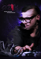 Skrillex Poster by OfficialRated