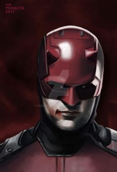 The man without fear (Daredevil) by FerPeralta