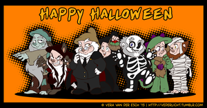 Happy Heigh-Ho Halloween! by Genolover