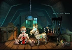 In the attic by Lubov2001