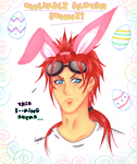 """Unlikely """"Turk"""" Easter Bunny by NailoSyanodel"""