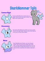 SharkNommer Sharks Ref Sheet by Nawnii