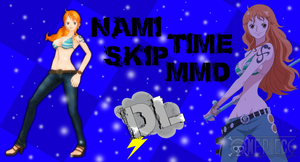 MMD One Piece Nami Timskip Ponytail DL by Friends4Never