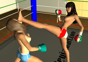 Random KO: Maria vs Catalina 003 by chuy9502