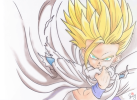 Son Gohan- You fight me by Emy-san