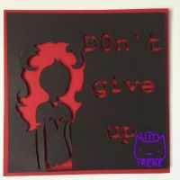 Aradia Megido Paper Cutout Quote by Kitty-Irene