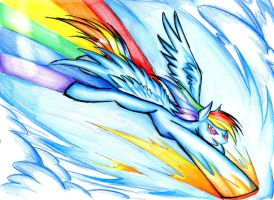 Breaking the sound barrier by winddragon24