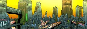 Cybertron Sunrise by Canalus