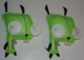 Dog Suit GIR Plush - 01 by EleanoraHoshi