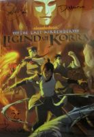 Legend Of Korra SDCC 2011 Poster by D-Scythe911