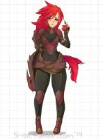 Shyvana: An Apple a Day by 5-ish