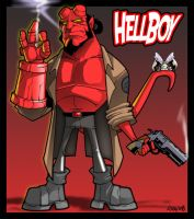 Hellboy 2 by CerberusLives
