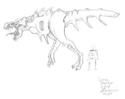 Lyrian Snapjaw by TheRepublicanMartian