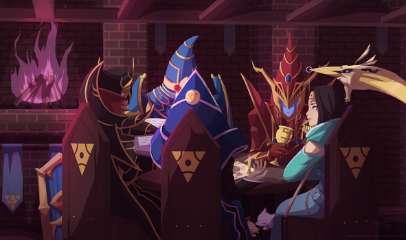 A Magical Tavern of Endymion by GreenMangos