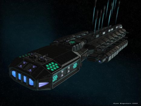 Missile Ship Part 2 by Mallacore