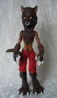 Monster High custom OOAK werewolf by redmermaidwerewolf