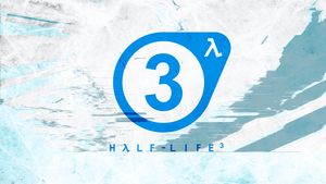 Half-Life 3 logo (white) by Stavrapid-official
