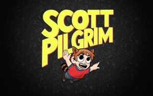 Scott Pilgrim - Wallpaper by LeeShackleton