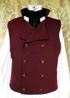 Sweeney Todd inspired waistcoat PCW4-12 by JanuaryGuest