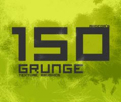 Grunge Texture Brushes SAMPLER by ardcor