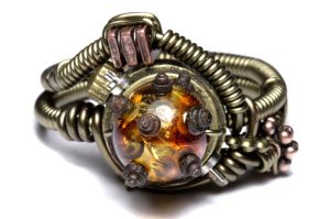 Steampunk Madness ring 3 by CatherinetteRings
