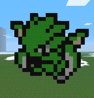 Minecraft- Scyther by aprilgoddess