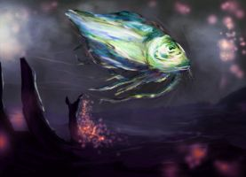 Just Another Fish by kungfoowiz