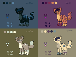Adoptable Sheet 8 by Adrakables