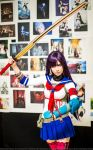 7th Dragon 2020 cosplay Katanako by Tenori-Tiger