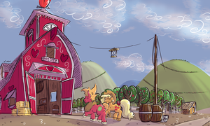 Sweet Apple Acres - Southern Belle by Dilarus