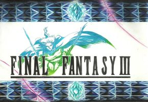 Final Fantasy III Logo by Paulcellx