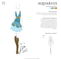 Aquarius - 12 Horoscopes C. by rednotion