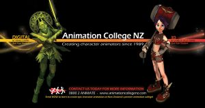Animation College Billboard by AnimationCollegeNZ
