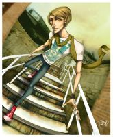 Stairs by f0xyme