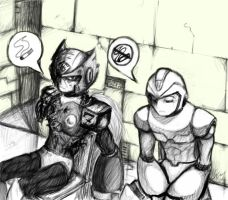 mmx - waiting room by glasscat