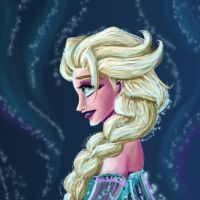 Queen Elsa of Arendale. by Pharoahess